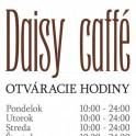 Daisy Caffé otváracie hodiny