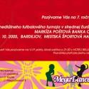 Markíza Poštová Banka Cup 2005 invitation