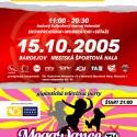 Markíza Poštová Banka Cup 2005 poster