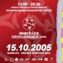 Markíza Poštová Banka Cup 2005 ticket